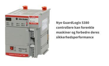 GuardLogix 5380 controller