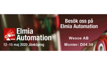 Träffa oss på Elmia Automation